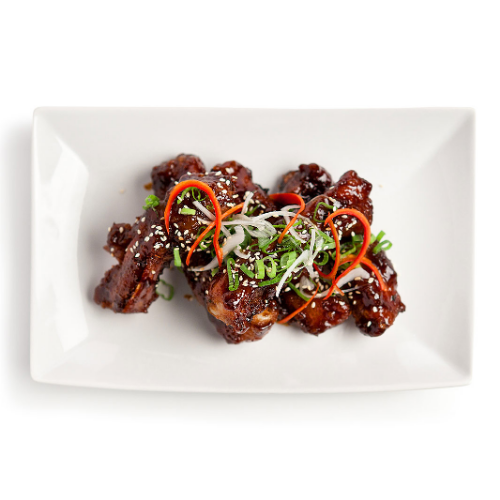Sticky charsui ribs