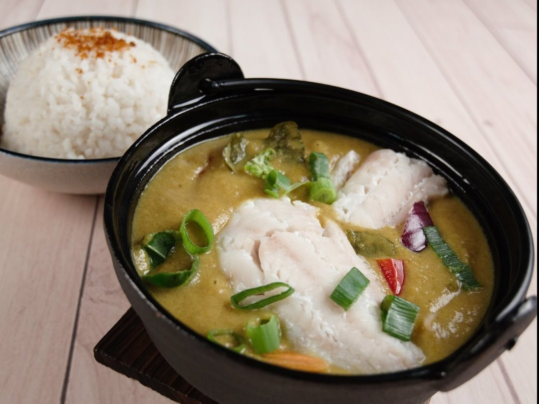 Why you should try our steamed Cod Curry