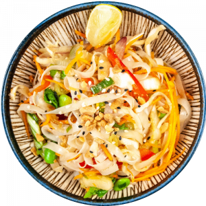 Vietnamese chicken glass noodle salad