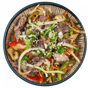 Hoisin Duck Salad